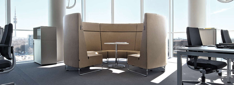 Office furniture for the office living space