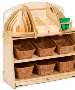 Creative Unit 3 with totes or Baskets