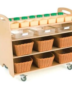 Help Yourself Trolley with Baskets