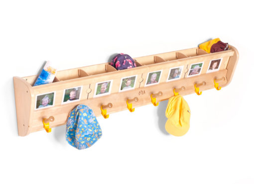 8 Welcome Wall Pegs with Pockets and Lables