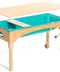 Large turquoise table