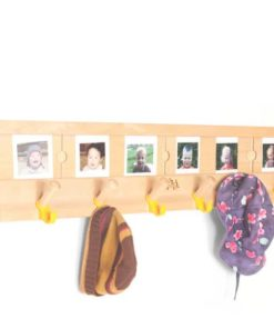 8 Welcome Wall Pegs with Lables