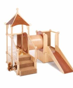 Nursery Gym Gnome Home with Slide