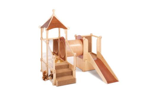 Nursery Gym Gnome Home with Slide