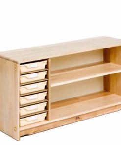 Multi-storage Shelf 124 x 61 cm