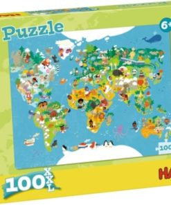 HABA Puzzle World Map 100 pcs