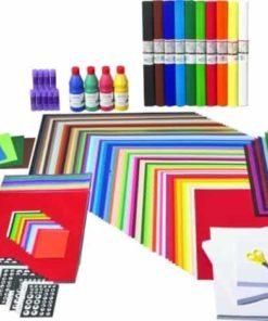 Basic Arts and Crafts Equipment. Saver Set Medium