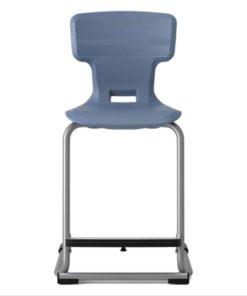 Kiboo air cushion chair with footrest