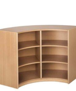'Timmy' Qarter-Circle Cabinet