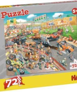 HABA Puzzle Car Race 72 pcs