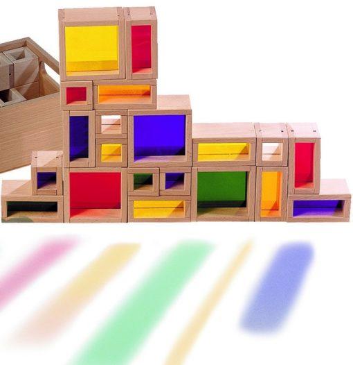 Rainbow Window Building Blocks