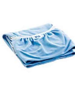 Coloured cot sheet