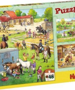 HABA Puzzle Stud Farm