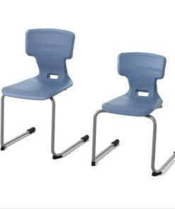 Kiboo air cushion chair - cantilever frame