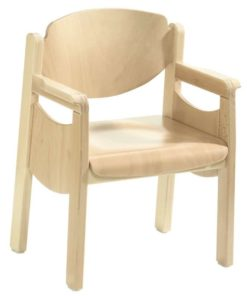 Armrest Chair Favorit with Side Panels