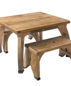High Square Play Table Set