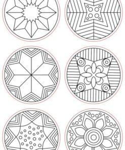 Mandala-Stamp Set