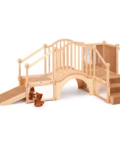 Nursery Gym Billy Goat's Bridge with Ramp