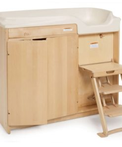 Changing Table with Steps