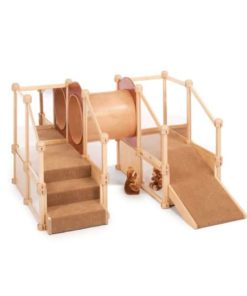 Nursery Gym Mole Hole with Ramp